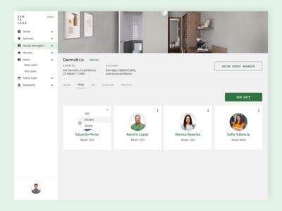 Profile co-living platform