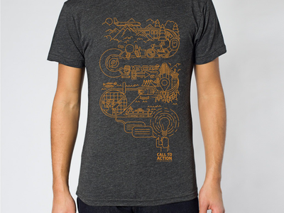 CTA Conference 2014 Shirt tshirt illustration vancouver design swag conference