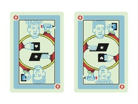 Process business/playing cards