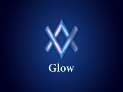 AV  glow 01 mnimalist simple creative branding vector illustration design creative design logo logo design