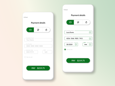 Credit Card Checkout credit card checkout creditcard card payment pay daily ui dailyui ui design