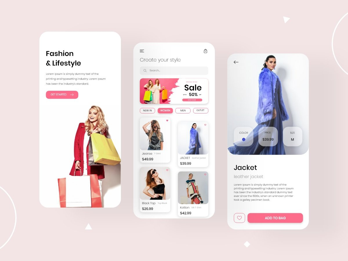 Fashion Lifestyle Shopping App Design Concept By Unary Team On Dribbble