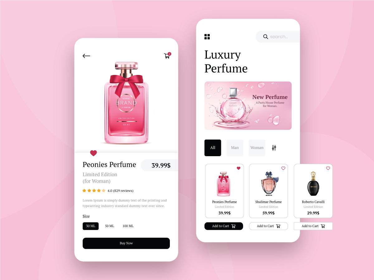 Perfume Online Store Development By