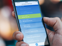 Mobile App-Video Conferencing Scheduling