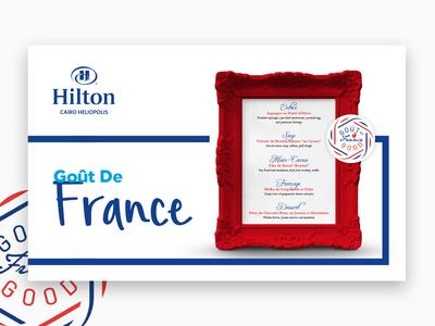 Goût De France Hilton