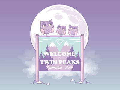 Welcome To Twin Peaks   Owl