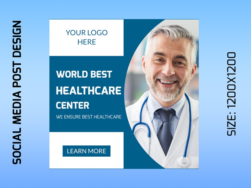 Social media health Ads Post Design graphic design social media post design social media ads design facebook ads design facebook health ads design ad design