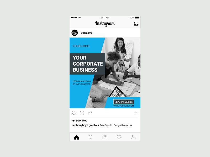 Instagram Ads Post Design ad banner design ads design