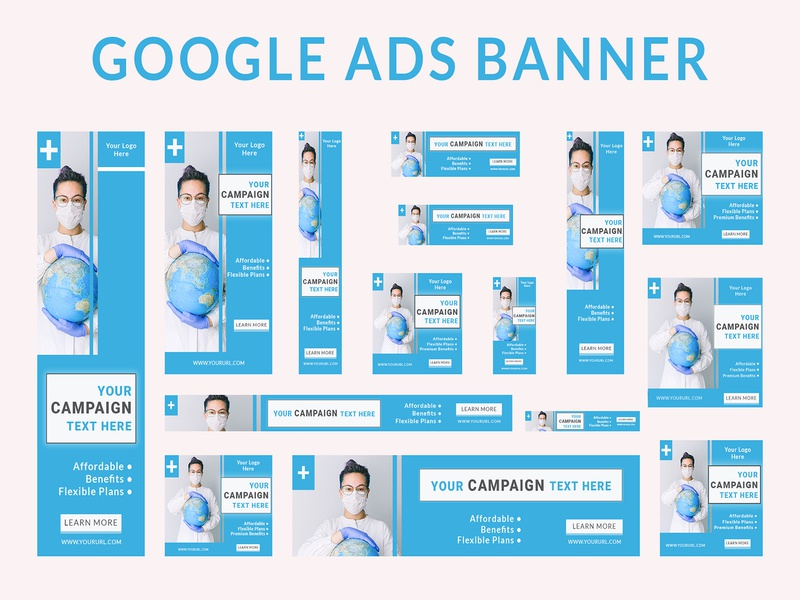 Google Ads Banner graphic design adobe photoshop google website banner ads design google ads banner ad design