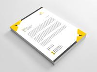 Letterhead 02 letterheads print designer letterhead template letterhead letterhead design