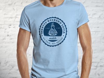 Startup Weekend Sofia - T-Shirt design shirt tshirt startup sofia graphic design startup weekend t-shirt