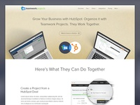 Teamwork Projects Integrates with HubSpot