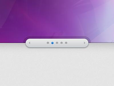 Slider Controls / Freebie slider pagination controls ui psd free