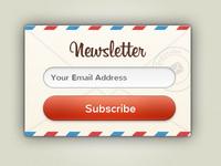 Newsletter Candy UI Rebound
