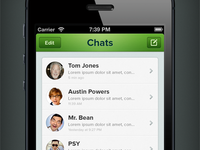 WhatsApp Redesign (Rebound)