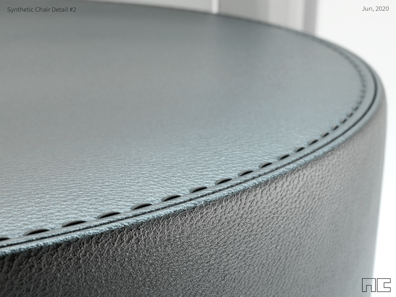 Synthetic Chair Detail #2 3d conceptual design concepts prototype product design rendering sofa chair products