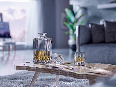 ArchViz - Scandinavian Interior b3d architecture 3d concept 3d artist modern 3d art render design blender