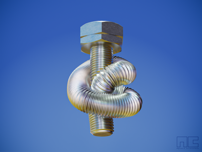 Confused bolt motion graphic product concept 3d artist modern 3d art design render blender