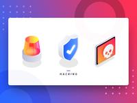 Hacking icons