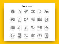 Klee Digital Xperiences - Icon Set