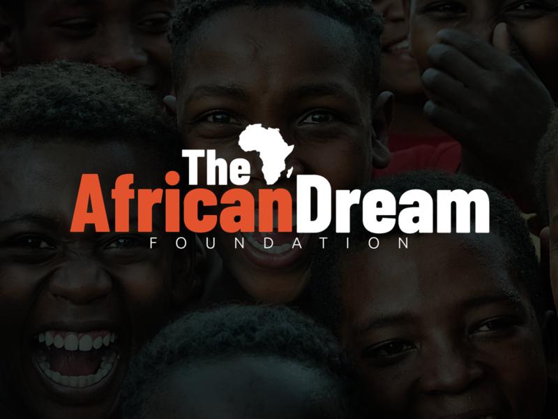 TheAfricanDream afro foundation africandream dream africa illustration design logo branding