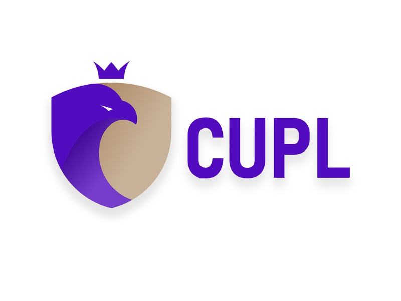CUPL logo design eagle football soccer league illustrator design branding logo