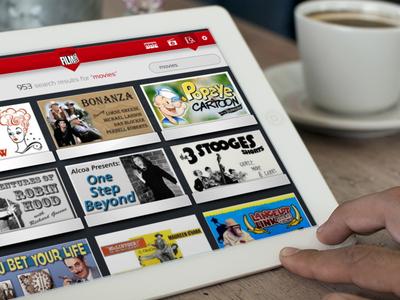 FC Movie iPad App