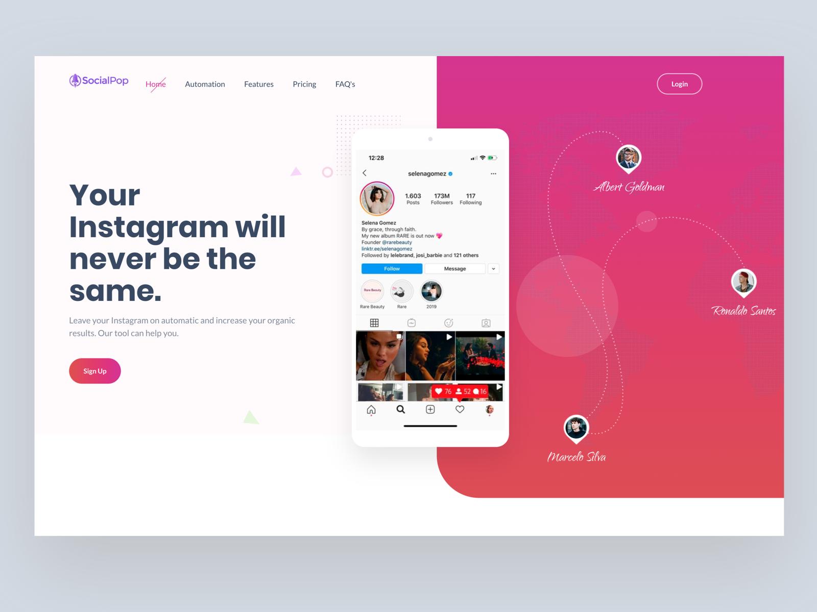 Social Pop Branding And Web Design Development By Shakil Ali For 11thagency On Dribbble