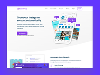Socialpop.io Web and Branding