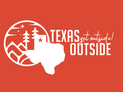 Texas Outside Logo and branding brand design typography outdoor logo logofolio logofont illustration branding concept branding and identity color logo branding agency brand brand identity branding design logos logodesign texas logo logotype logo design branding logo