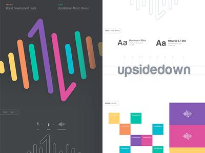 Upsidedown Logo Design Branding