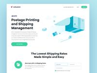 Shipping Landing Page