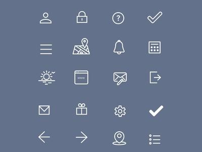 Lighter Icon Set