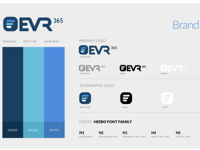 EVR Brand Guide