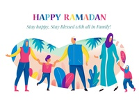 Happy Ramadan By 11thagency