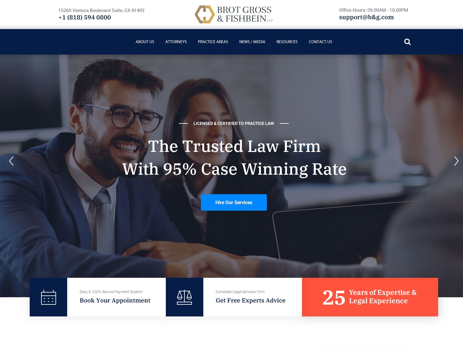 BGF Law Firm Home Page design home screen typography freelance branding wordpress icons illustration freelancer website lawfirm website law firm lawfirm website design wordpress theme template design wordpress design theme landing page home page