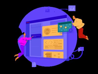 Team Work Free Illustration