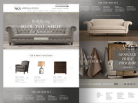 Hi End Furniture E-Commerce Website