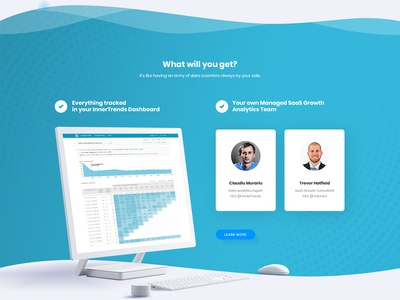 Saas  Product Growth Landing Page