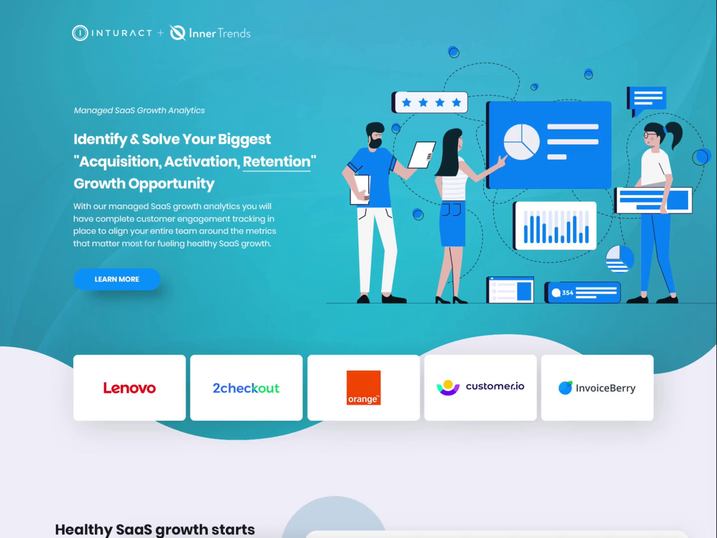 Saas landign page by 11thagency x264 002