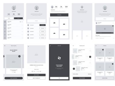 Ecommerce Mobile App Ui Ux