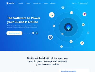 Gosite V1 Website Design and Development