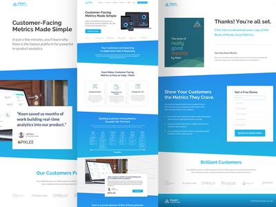 HubSpot Landing Page Design Development