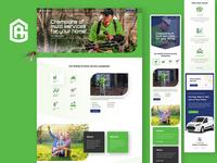 GreenArmy Landing Page Design