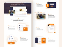 HeyDay Custom Landing Page and  Artwork Design