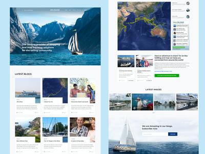 SailBlog Magazin Blog Web
