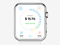 iWatch App Design Concept