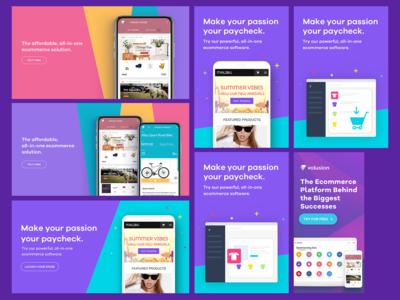 Volusion Colorful Social Media Marketing