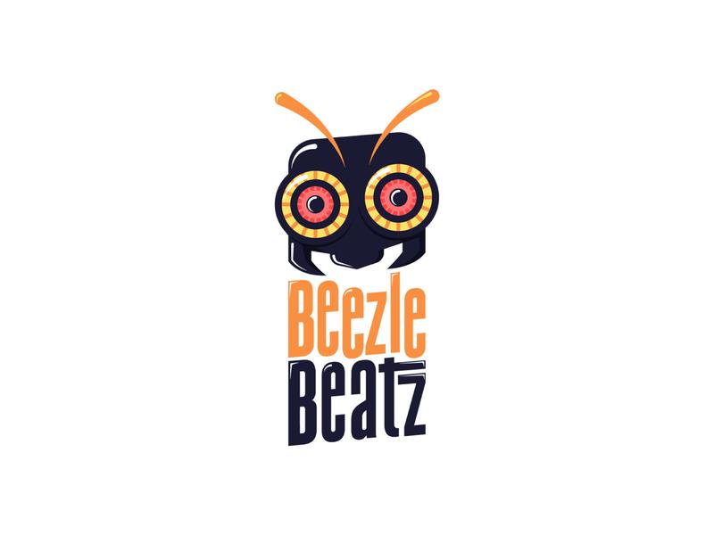 Beezle Beatz Logo logodesign logo producer beatmaker music beats