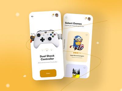 Game App Design. app ui gaming app mobile app 3d bra ui fintech app ux ui  ux uidesign design app